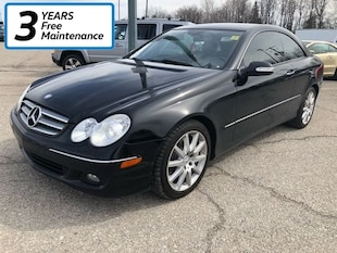 2007 Mercedes-Benz CLK-Class **One Owner LOW K Coupe