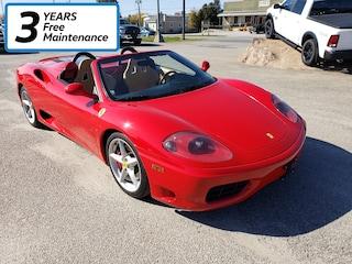 2004 Ferrari 360 Spyder Coupe