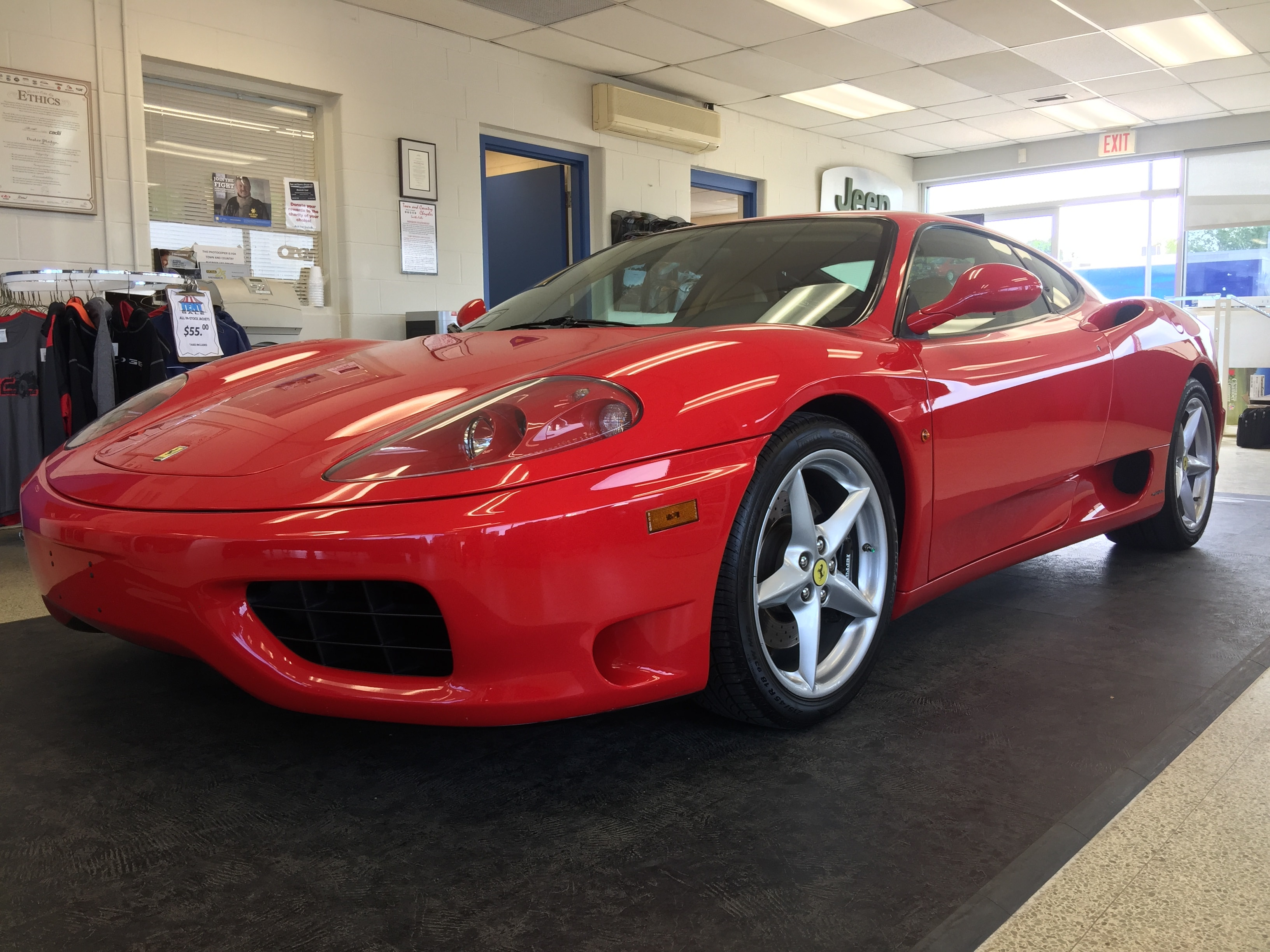 2001 Ferrari 360 Modena ***MINT....*** Coupe