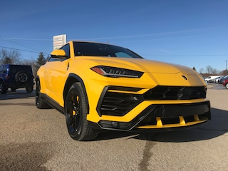 2019 Lamborghini URUS ASK ABOUT LEASE Giallo Auge ASK ABOUT LEASE!!!  BRAND NEW 2019 SUV