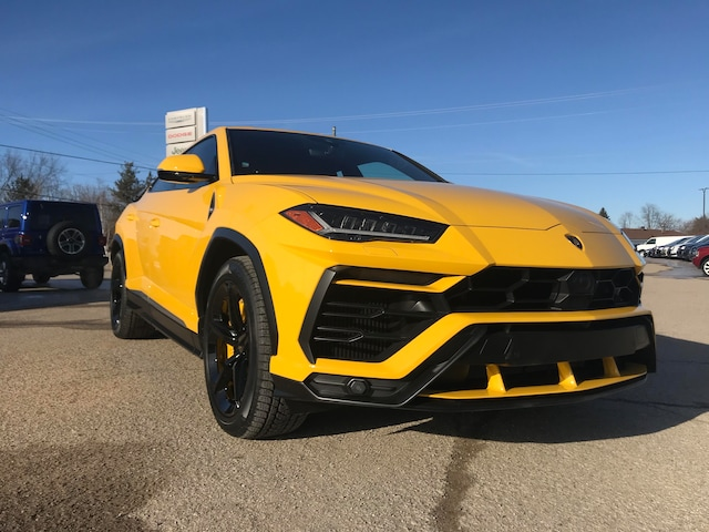 Used 2019 Lamborghini Urus Ask About Lease Giallo Auge Ask About