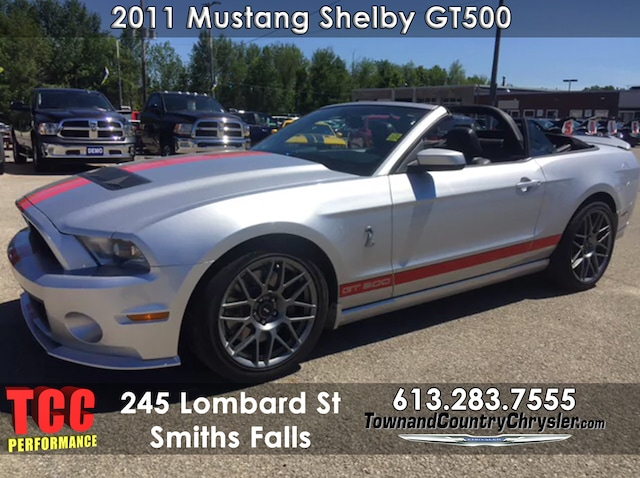 Used 2011 Ford Shelby Gt500 For Sale Smiths Falls On
