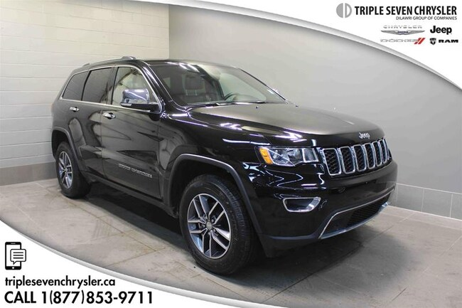Used 2018 Jeep Grand Cherokee Limited SUV in Regina