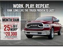 2017 Ram 1500 SLT Truck Crew Cab