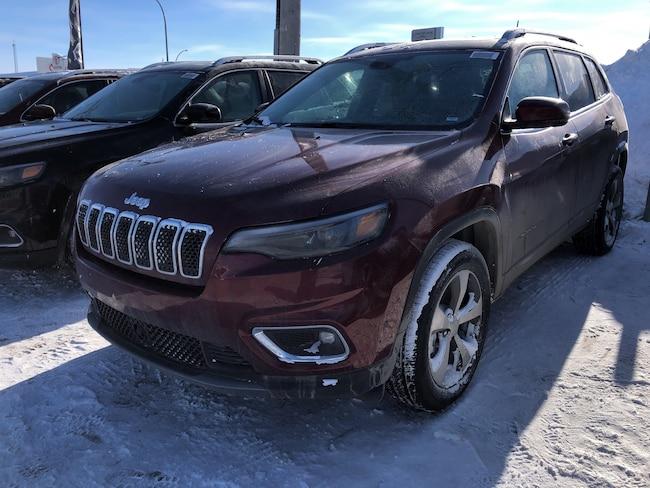 New 2019 Jeep New Cherokee Limited 4x4 SUV in Regina