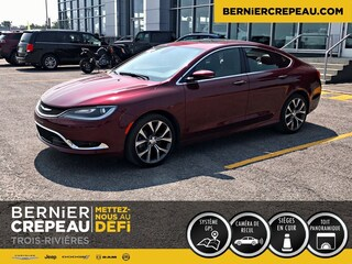2016 Chrysler 200 C Limited Cuir Toit GPS Berline