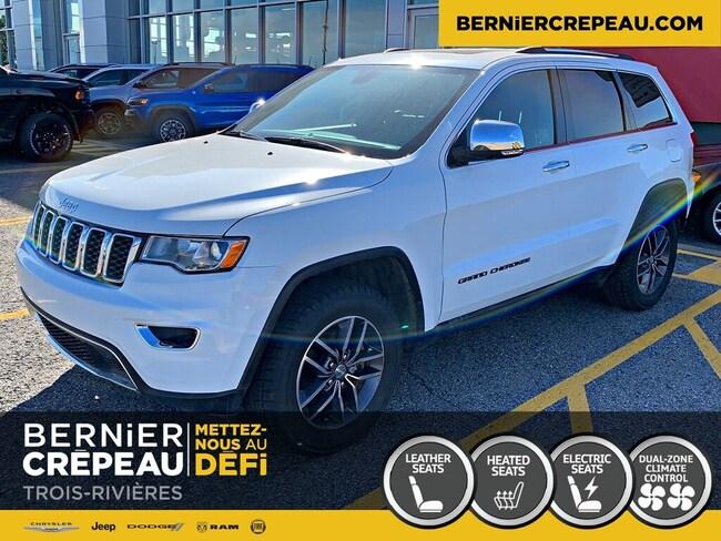 2018 Jeep Grand Cherokee Limited 4X4 Cuir Demarreur Prix Demo VUS