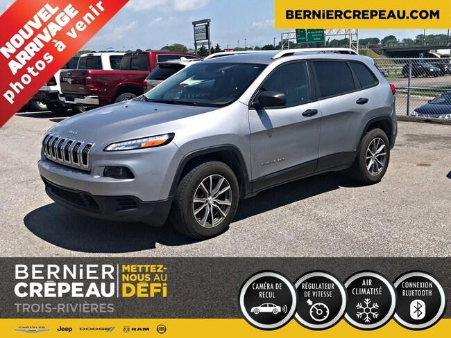 2015 Jeep Cherokee Sport 4X4 A/C Demarreur