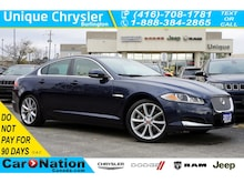 2015 Jaguar XF 3.0L AWD  Navi+Voice PKG  Cold Weather PKG Sedan