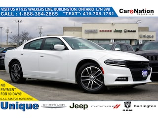 2019 Dodge Charger SXT AWD  NAV  Sunroof  Super Track PAK  Rear CAM Sedan
