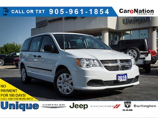 2016 Dodge Grand Caravan Canada Value Package  Local Trade