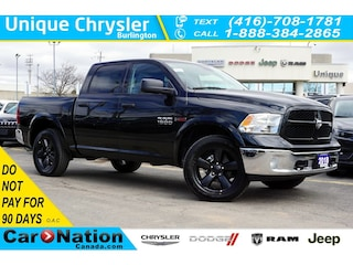 2018 Ram 1500 Outdoorsman  Ecodiesel  Apple Carplay  Rear CAM Truck Crew Cab