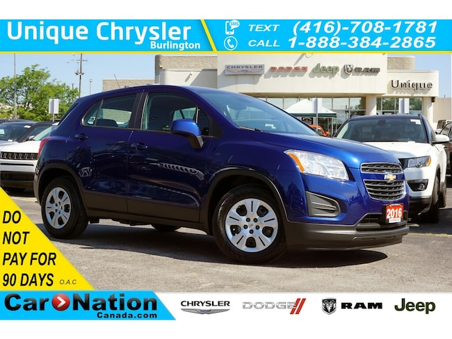 2016 Chevrolet Trax LS  10 Airbags  Bluetooth  Power Group & More SUV