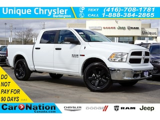 2018 Ram 1500 Outdoorsman  Ecodiesel  Alpine  Remote Start Truck Crew Cab