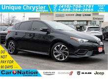 2016 Scion iM Rear CAM  Bluetooth  Dual Climate & More  1-Ow Hatchback