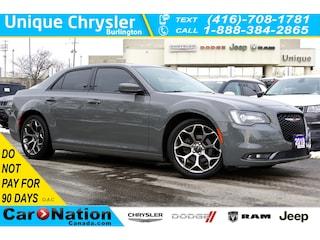 2018 Chrysler 300 300S  Alpine Sounds  NAV  Panoramic Sunroof & Sedan
