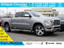 2019 Ram 1500 Laramie  Advanced Safety GRP  Panoramic Sunroof Truck Crew Cab