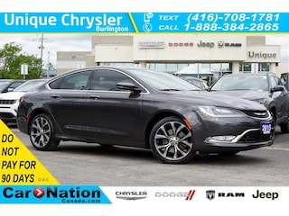 2015 Chrysler 200 C  SUN & Sound GRP  NAV  HID  LED  Premium GRP Sedan