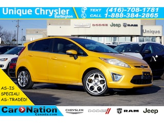 2011 Ford Fiesta AS-IS Special  SES  Sunroof  Leather  HTD Seats Hatchback