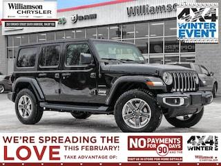2020 Jeep Wrangler Sahara - Dual Top Group SUV