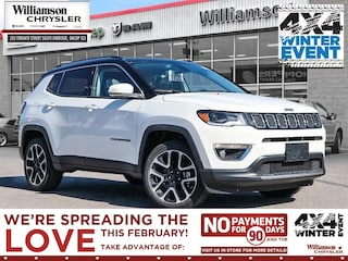 2020 Jeep Compass Limited - Sunroof - Leather Seats SUV