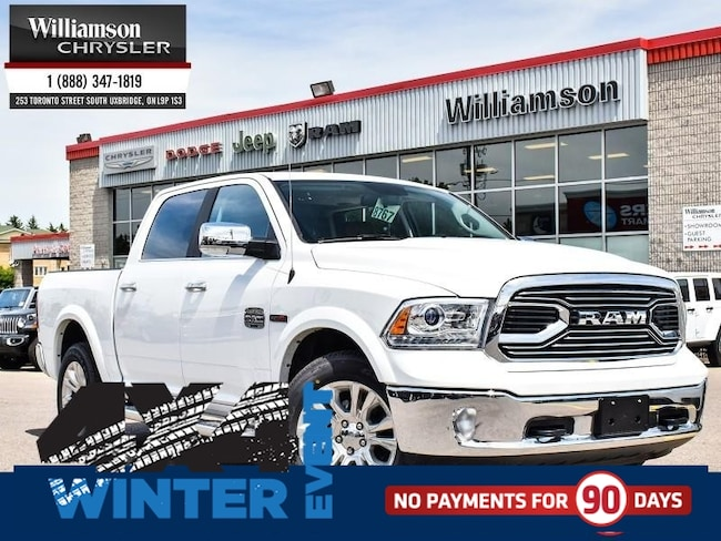 2018 Ram 1500 Longhorn - Leather Seats -  Cooled Seats - $309.25 Truck Crew Cab