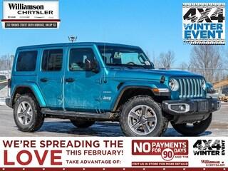 2020 Jeep Wrangler Sahara - Leather Seats SUV
