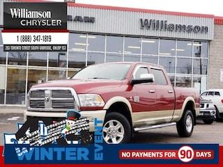 2012 Ram 2500 Laramie Longhorn - Leather Seats - $401.38 B/W Truck Crew Cab