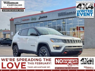2020 Jeep Compass Trailhawk - Sunroof - Leather Seats SUV