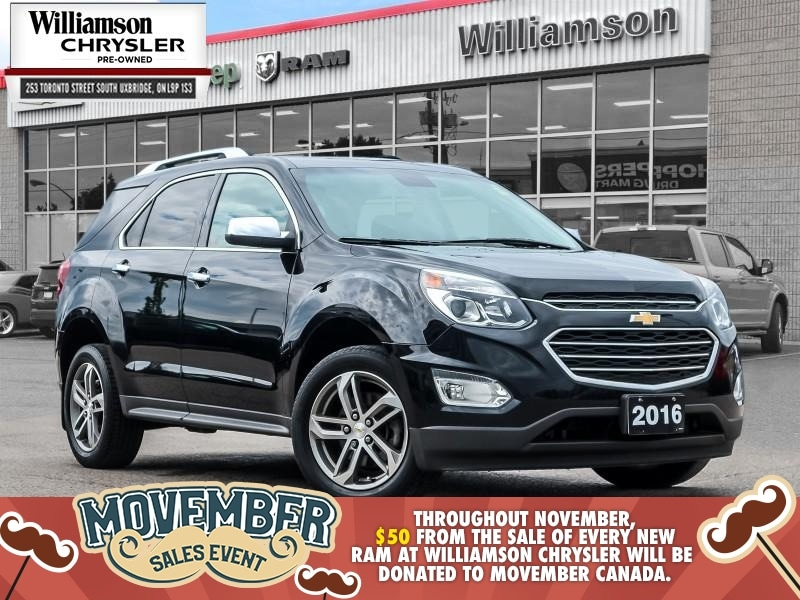 2016 Chevrolet Equinox LTZ - Heated Seats -  Bluetooth SUV