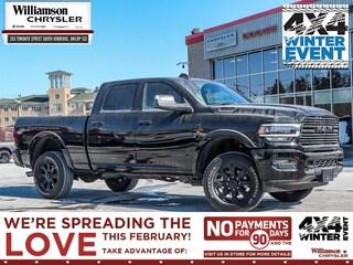 2020 Ram 3500 Laramie - Diesel Engine - Night Edition Truck Crew Cab