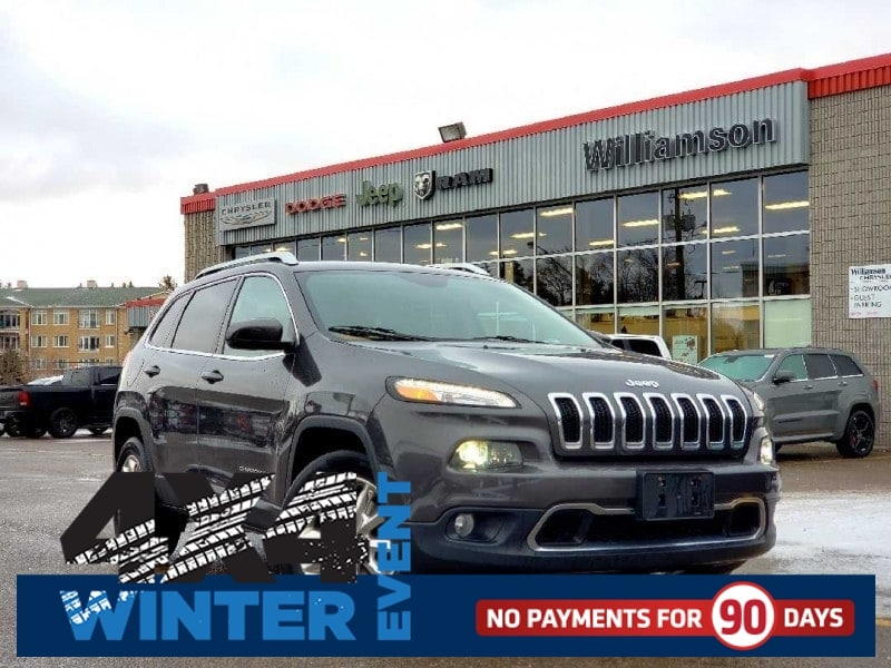 2016 Jeep Cherokee Limited - Leather Seats -  Bluetooth - $178.55 B/W SUV