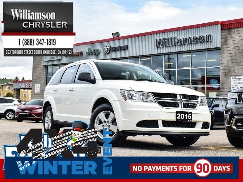 2015 Dodge Journey Canada Value PKG - $89.84 B/W SUV