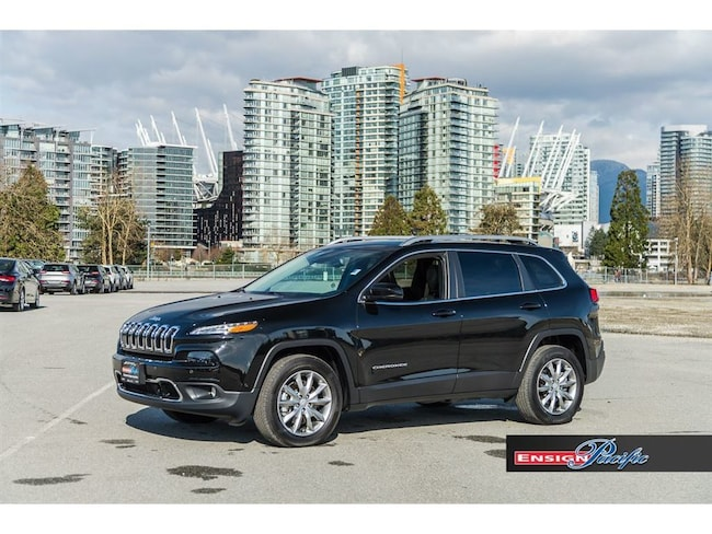 2017 Jeep Cherokee 4x4 Limited SUV
