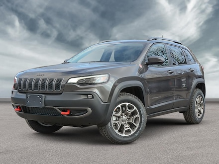 2020 Jeep Cherokee Trailhawk SUV for sale in Vancouver, BC