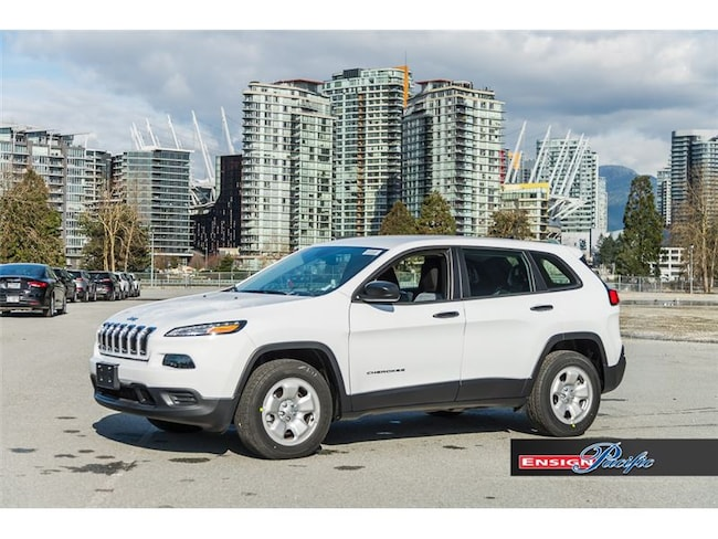 2017 Jeep Cherokee 4x4 Sport -w/ Cold Weather Group and Backup Camera SUV