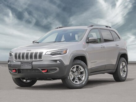 2021 Jeep Cherokee Trailhawk SUV for sale in Vancouver, BC