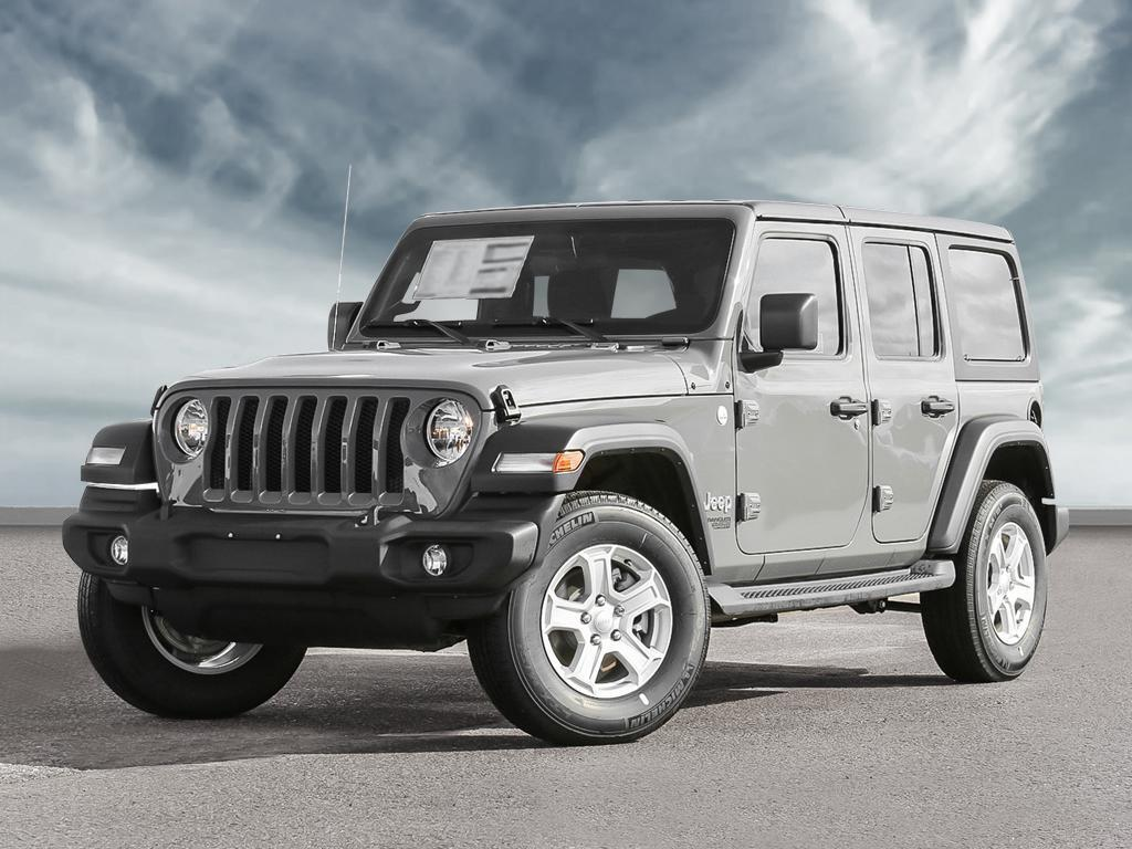 New 2021 Jeep Wrangler Unlimited Sport S For Sale Vancouver Bc