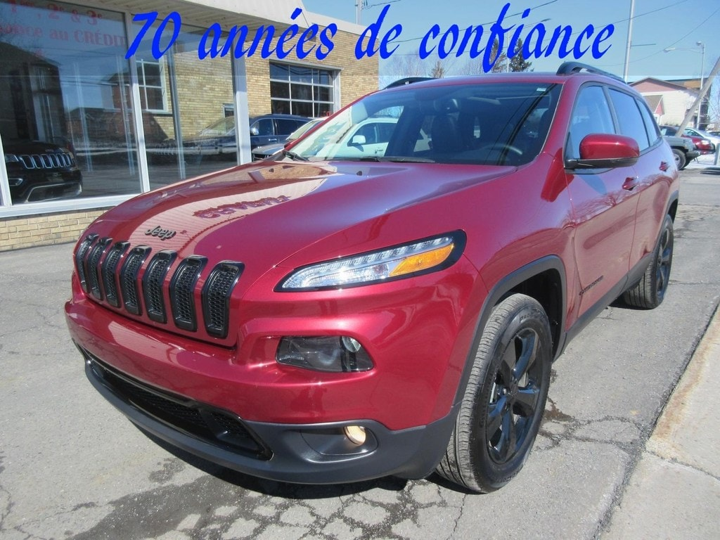 2017 Jeep Cherokee **Comme Neuf** High Altitude *Pano* VUS