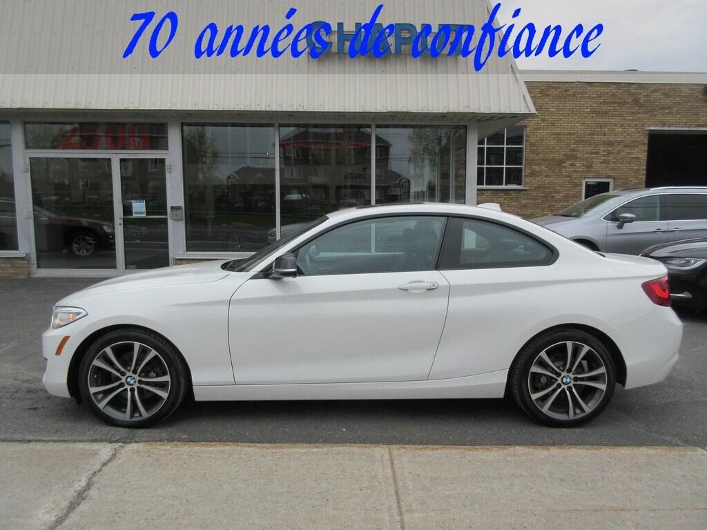 2014 BMW 2 Series 228i 8 Mags+8 Pneus Coupé