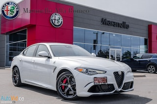 New 2018 Alfa Romeo Giulia Quadrifoglio Sedan ZARFAEAV0J7584073 for sale in Vaughan