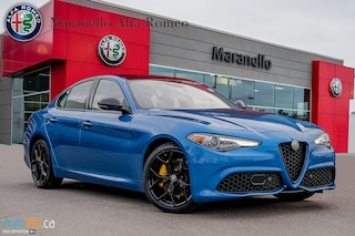 New 2019 Alfa Romeo Giulia TI AWD Sedan ZARFANBN5K7619285 for sale in Vaughan