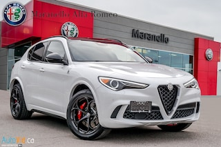 New 2019 Alfa Romeo Stelvio Quadrifoglio SUV ZASPAKEV1K7C61215 for sale in Vaughan