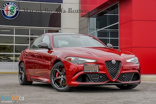 New 2019 Alfa Romeo Giulia Quadrifoglio RWD Sedan ZARFAMEV3K7617329 for sale in Vaughan