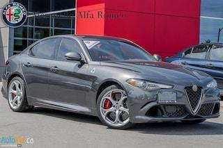 Used 2018 Alfa Romeo Giulia Quadrifoglio RWD Sedan for sale in Vaughan