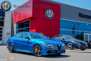 New 2019 Alfa Romeo Giulia Quadrifoglio RWD Sedan ZARFAMEV0K7614856 for sale in Vaughan