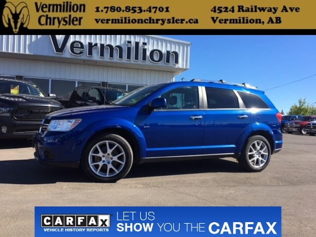 2015 Dodge Journey R/T, AWD, Heated Leather SUV