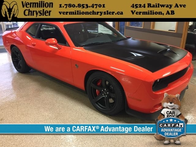 DYNAMIC_PREF_LABEL_INDEX_INVENTORY_FEATURED1_ALTATTRIBUTEBEFORE 2017 Dodge Challenger SRT Hellcat, 6.2L HEMI Supercharged - 707 HP! Coupe