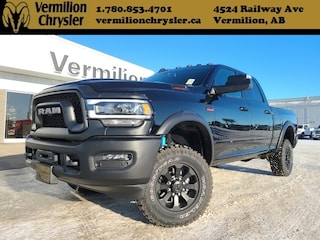 New 2020 Ram 2500 Power Wagon 4x4 Crew Cab 6.3 ft. box 149 in. WB for sale in Vermilion AB