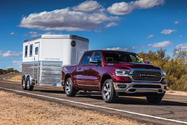 2020 Ram 1500 Towing A Trailer
